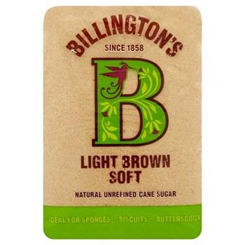 Billington's Light Brown Soft Natural Unrefined Cane Sugar 500g
