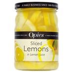Opies Sliced Lemons in Lemon Juice 350g