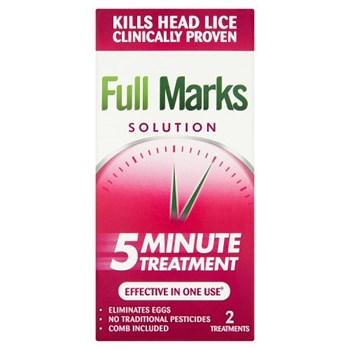 Full Marks Solution 5 Minute Treatment 100ml