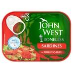 John West Boneless Sardines in Tomato Sauce 95g