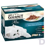Gourmet Perle Connoisseurs Collection In Gravy 12x85g