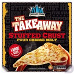 Chicago Town The Takeaway Four Cheese Melt Stuffed Crust 630g