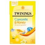 Twinings Camomile & Honey 20 Single Tea Bags 30g