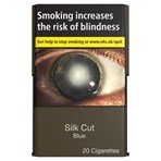Silk Cut Blue 20 Cigarettes
