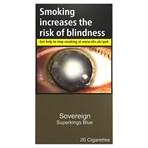 Sovereign Blue Superkings 20 Cigarettes