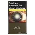 Silk Cut 100S 20 Superkings Cigarettes