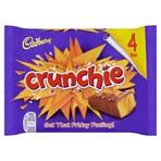 Cadbury Crunchie Chocolate Bar 4 Pack 128g