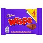 Cadbury Wispa Chocolate Bar 4 Pack 120g