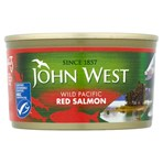 John West Wild Pacific Red Salmon 213g