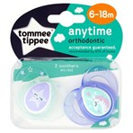 Tommee Tippee Anytime 2 Orthodontic Soothers Purple 6-18m
