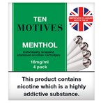 Ten Motives 4 Menthol 16mg