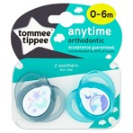 Tommee Tippee Anytime 2 Orthodontic Soothers 0-6m