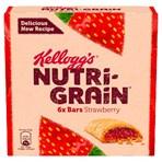 Kellogg's Nutri-Grain Strawberry Cereal Bars 6 x 37g