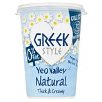 Yeo Valley Family Farm 0% Fat Greek Style Natural 450g