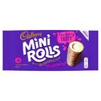 Cadbury Raspberry Mini Rolls x 5