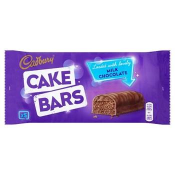 Cadbury Milk Chocolate Cake Bars x 5