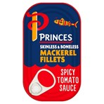 Princes Mackerel Fillets in a Spicy Tomato Sauce 125g