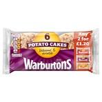 Warburtons 6 Potato Cakes