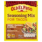 Old El Paso Garlic & Paprika Taco Seasoning Mix 25g