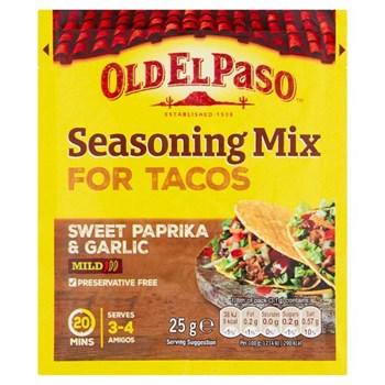 Old El Paso Garlic & Paprika Taco Seasoning Mix 25g