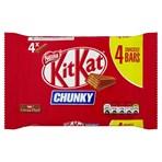 Kit Kat Chunky Milk Chocolate Bar 32g 4 Pack