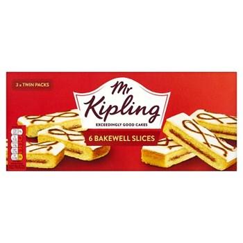 Mr Kipling 6 Bakewell Slices