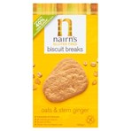 Nairn's Gluten Free Biscuit Breaks Oats & Stem Ginger 160g