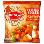 Birds Eye 24 Chicken Nuggets with Golden Wholegrain 379g
