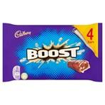 Cadbury Boost Chocolate Bar 4 Pack 160g