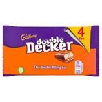 Cadbury Double Decker Chocolate Bar 4 Pack 188g