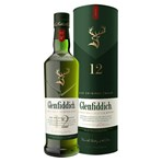 Glenfiddich 12 Year Old Single Malt Scotch Whisky 70cl