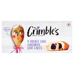 Mrs Crimble's Double Choc Lunchbox Loaf Cakes 5 x 30g (150g)