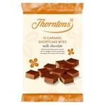 Thorntons 10 Caramel Shortcake Bites Milk Chocolate