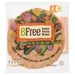 BFree Sweet Potato Wraps 6 x 42g (252g)