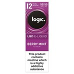 Logic LQD E-Liquid Berry Mint Flavour 12mg 10ml