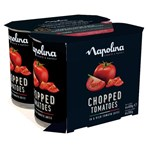 Napolina Chopped Tomatoes in a Rich Tomato Juice 4 x 400g