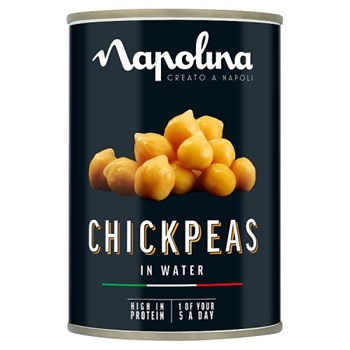 Napolina Chickpeas in Water 400g