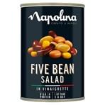 Napolina Five Bean Salad in Vinaigrette 400g