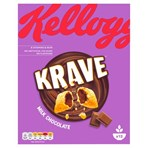 Kellogg's Krave Milk Chocolate Cereal 375g