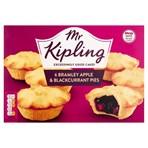 Mr Kipling 6 Bramley Apple & Blackcurrant Pies