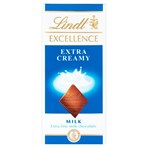Lindt Excellence Milk Extra Creamy Chocolate Bar 100g