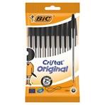 BIC Cristal Original Pens Black x10