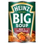 Heinz Big Soup Beef & Vegetable 400g