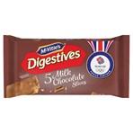 McVitie's Digestives 5 Milk Chocolate Slices 128.6g