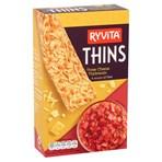 Ryvita Thins Three Cheese Flatbreads 125g