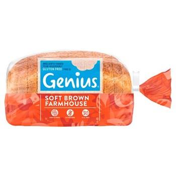 Genius Gluten Free Soft Brown Farmhouse 535g