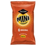 Jacob's Mini Cheddars Original Cheese Snacks 6 Pack 150g