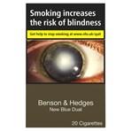 Benson & Hedges New Blue Dual 20 Cigarettes