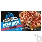 Chicago Town 2 Deep Dish Pepperoni Pizzas (2 x 160g)
