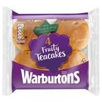 Warburtons 4 Fruity Teacakes